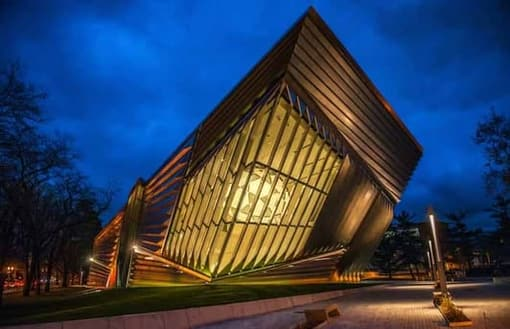 The new Eli and Edythe Broad Art Museum